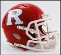 Rutgers Scarlet Knights Riddell NCAA Mini Speed Football Helmet