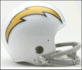 San Diego Chargers 1961-73 Throwback Mini Replica Helmet