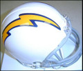 San Diego Chargers 1961-1973 Replica AFL Throwback Z2B Mini Helmet