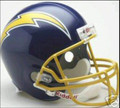 San Diego Chargers 1974-87 Throwback Full Size Replica Helmet