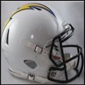 San Diego Chargers Authentic Revolution Speed Football Helmet