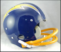 San Diego Chargers Full Size TK Suspension Throwback Helmet 1974-87