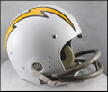 San Diego Chargers Full Size TK Suspension Throwback Helmet 1961-63