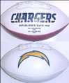 San Diego Chargers Full Size Logo Football