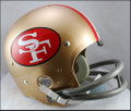 San Francisco 49er's Full Size TK Suspension Throwback Helmet 1964-68