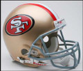 San Francisco 49ers Full Size Authentic Helmet