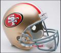 San Francisco 49ers New 2009 Full Size Replica Helmet