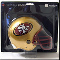 San Francisco 49ers Helmet Bank