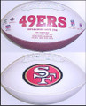 San Francisco 49ers Full Siize Logo Football