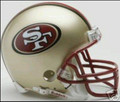 San Francisco 49ers 96-08 Throwback Mini Replica Helmet