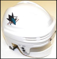 San Jose Sharks Mini NHL Replica Hockey Helmet