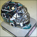 San Jose Sharks Mini Replica Goalie Mask