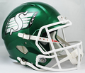 Saskatchewan Roughriders CFL Full Size Replica Speed Helmet