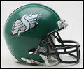 Saskatchewan Roughriders CFL Mini Replica Helmet