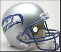Seattle Seahawks 1983-01 Throwback Full Size Replica Helmet
