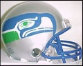 Seattle Seahawks 83-01 Throwback Mini Replica Helmet
