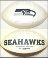 Seattle Seahawks Fotoball Sports Signature NFL Full Size Football New