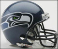 Seattle Seahawks Mini Replica Throwback Helmet 02-11