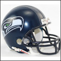 Seattle Seahawks NFL Mini Football Helmet NEW Matte Navy
