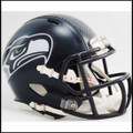 Seattle Seahawks NFL Mini Speed Football Helmet NEW Matte Navy