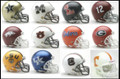 SEC Conference 12pc Mini Replica Speed Helmet Set