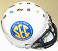 SEC Conference Riddell Mini Replica Football Helmet