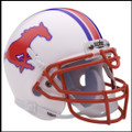 SMU Mustangs Mini Authentic Schutt Helmet