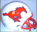 SMU Southern Methodist Mustangs Mini Replica Helmet