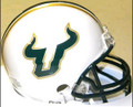 South Florida Bulls Alternate WHITE Riddell NCAA Replica Mini Helmet