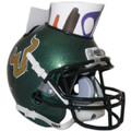 South Florida Bulls Mini Football Helmet Desk Caddy Green