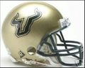 South Florida Bulls Mini Replica Helmet