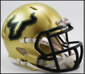 South Florida Bulls Riddell NCAA Mini Speed Football Helmet