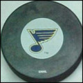 St. Louis Blues NHL Logo Puck