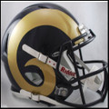 St. Louis Rams Authentic Revolution Speed Football Helmet