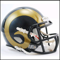 St. Louis Rams Mini Speed Football Helmet