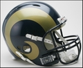 St. Louis Rams Revolution Full Size Authentic Helmet
