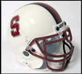Stanford Cardinals White Mini Authentic Schutt Helmet