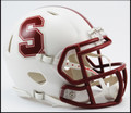 Stanford Cardinals Riddell NCAA Mini Speed Football Helmet