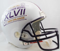 SUPER BOWL 47 REPLICA FULL SIZE HELMET