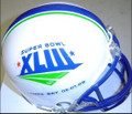 Super Bowl XLIII 43 Mini Replica Helmet