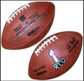 Super Bowl XLV 45 Wilson Official Football
