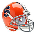 Syracuse Orangemen Mini Authentic Schutt Helmet