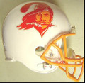 Tampa Bay Buccaneers 1975-96 Throwback Full Size Replica Helmet