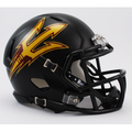 Arizona State Sun Devils Matte Black Mini Speed Helmet