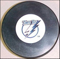 Tampa Bay Lightning NHL Logo Puck