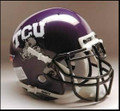 TCU Horned Frogs Mini Authentic Schutt Helmet