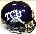 TCU Schutt NCAA XP Full Size Replica Football Helmet