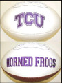 TCU Texas Christian Horned Frogs Full Size Signature Football