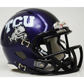 Texas Christian University TCU Horned Frogs Mini Speed Helmet