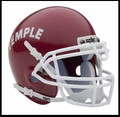 Temple Owls Mini Authentic Schutt Helmet